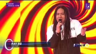 """Ray BG canta """"Así fue"""" en Los Cuatro Finalistas"""