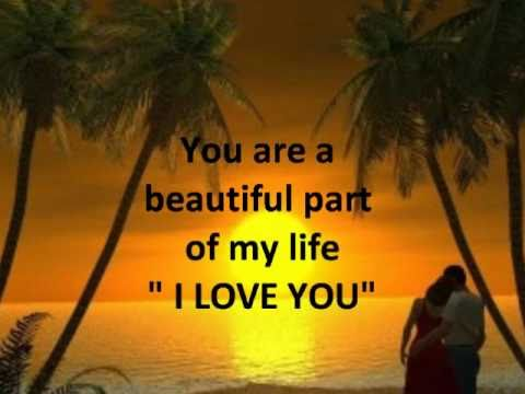 I Love You Poem and You Are So Beautiful To Me Instrumental Sax.