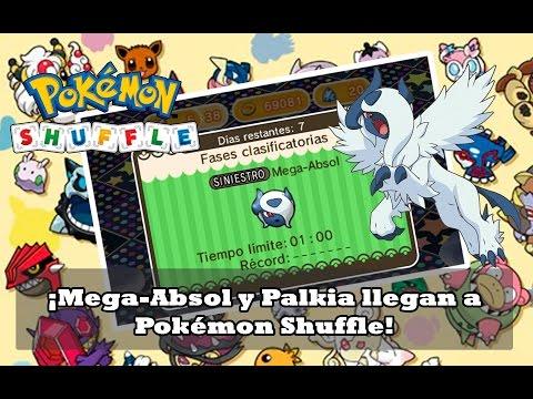 ¡Mega-Absol y Palkia llegan a Pokémon Shuffle!