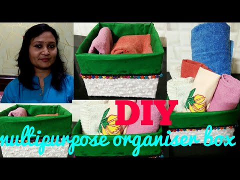 Do It Yourself,multipurpose organiser box,kitchen storage, anvesha,s creativity