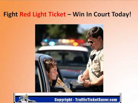 Easily Beat A Red Light Ticket