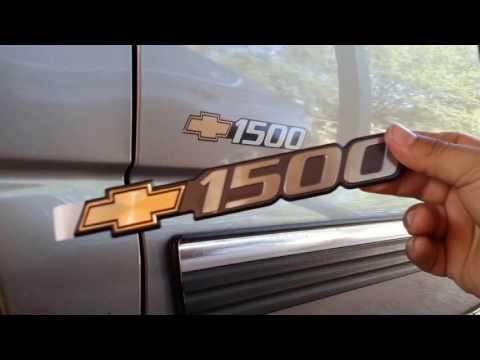 99-07 1500 Chevy OEM Bowtie Emblem