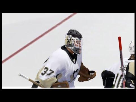 Nhl14: Goalie Vs Player Fight