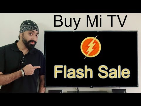 How to buy Mi Smart LED Tv in FLASH SALE