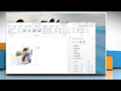 How to make 3D effects in Microsoft® Word 2013 document in Windows® 8.1