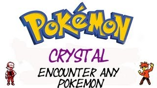 Pokemon Crystal - How To Find Any Pokemon | GameShark Codes