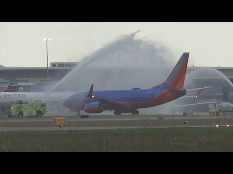 SOUTHWEST AIRLINES | First Scheduled Flight to Nassau Bahamas | N7739A