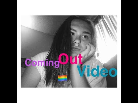 Coming out video 🏳️‍🌈//happy National bisexual visibility day