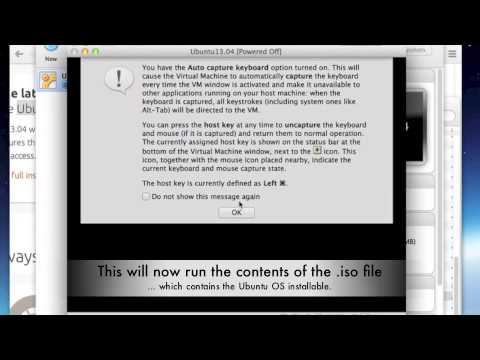 VirtualBox, Ubuntu 13.04 installation on Mac OSX