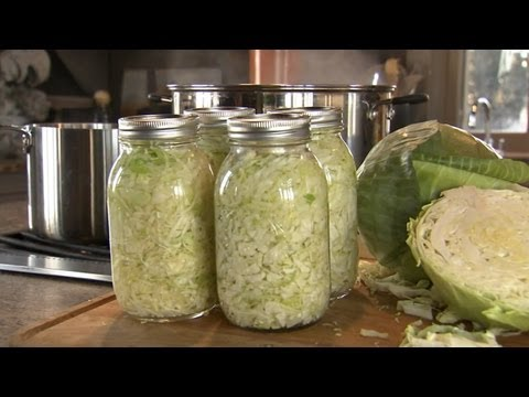 How to Make Sauerkraut | P. Allen Smith Cooking Classics