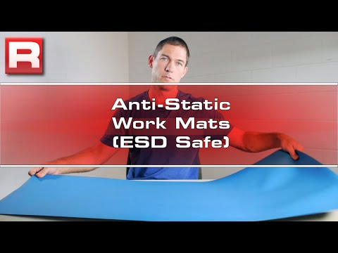 Anti-Static Work Mats (ESD Safe) Overview