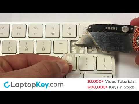 Apple Keyboard Key Repair Guide Magic Keyboard A1644 MLA22LL