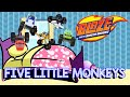 Blaze And The Monster Machines Theme Song Five Little Monkey