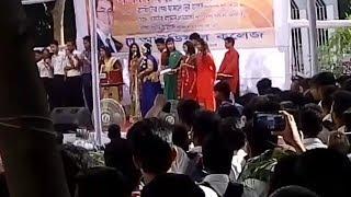 Ideal college Nobin boron 2K17 Amra sobai banglai song
