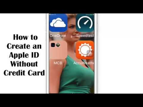How to Create an Apple ID Without Credit Card 2016   101% Working Trick   YouTube