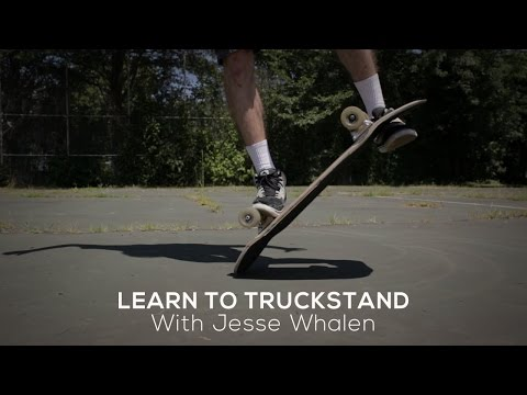 Freestyle Trick Tip: Truck Stand