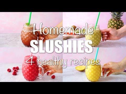 Homemade Fresh Fruit Summer Slushies!