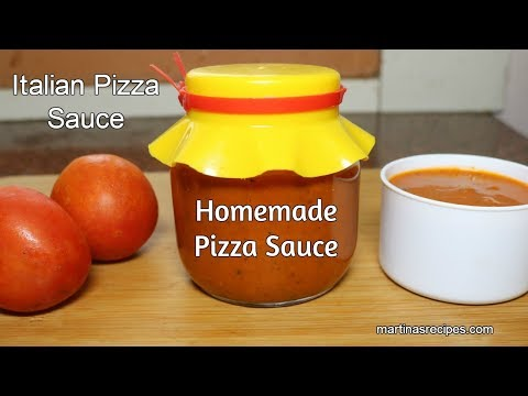 Pizza Sauce Recipe | Homemade Pizza Sauce Recipe | Italian Pizza Sauce Recipe