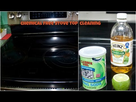 How To Clean Your Stove Top | How to clean your stove with baking soda