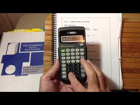 TI30Xa Scientific Calculator Review