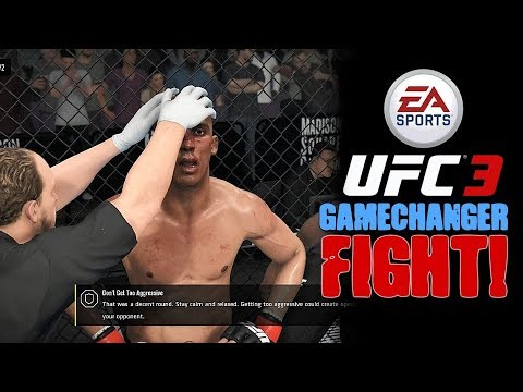 EA Sports UFC 3 - Very Tricky Fight vs GameChanger!
