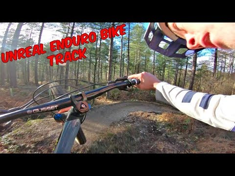 UNREAL NEW ENDURO MTB TRACK!!