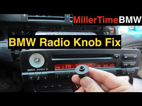 BMW E46-Radio Knob Repair - Season 2 Episode 4