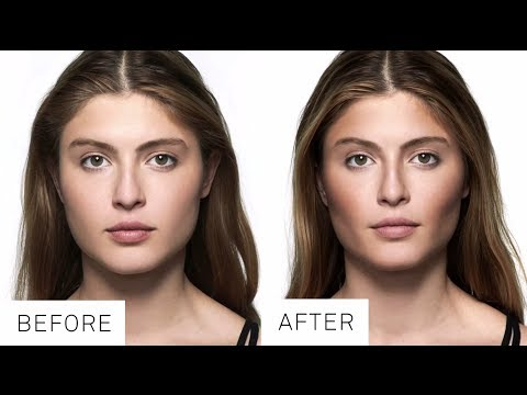Contouring Tutorial for Heart Shaped Faces by Smashbox Cosmetics | Sephora