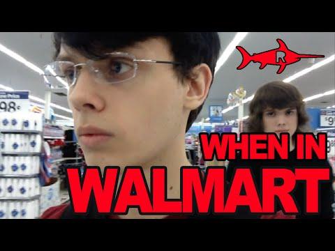 VLOG - When In Walmart... - Red Swordfish Studios