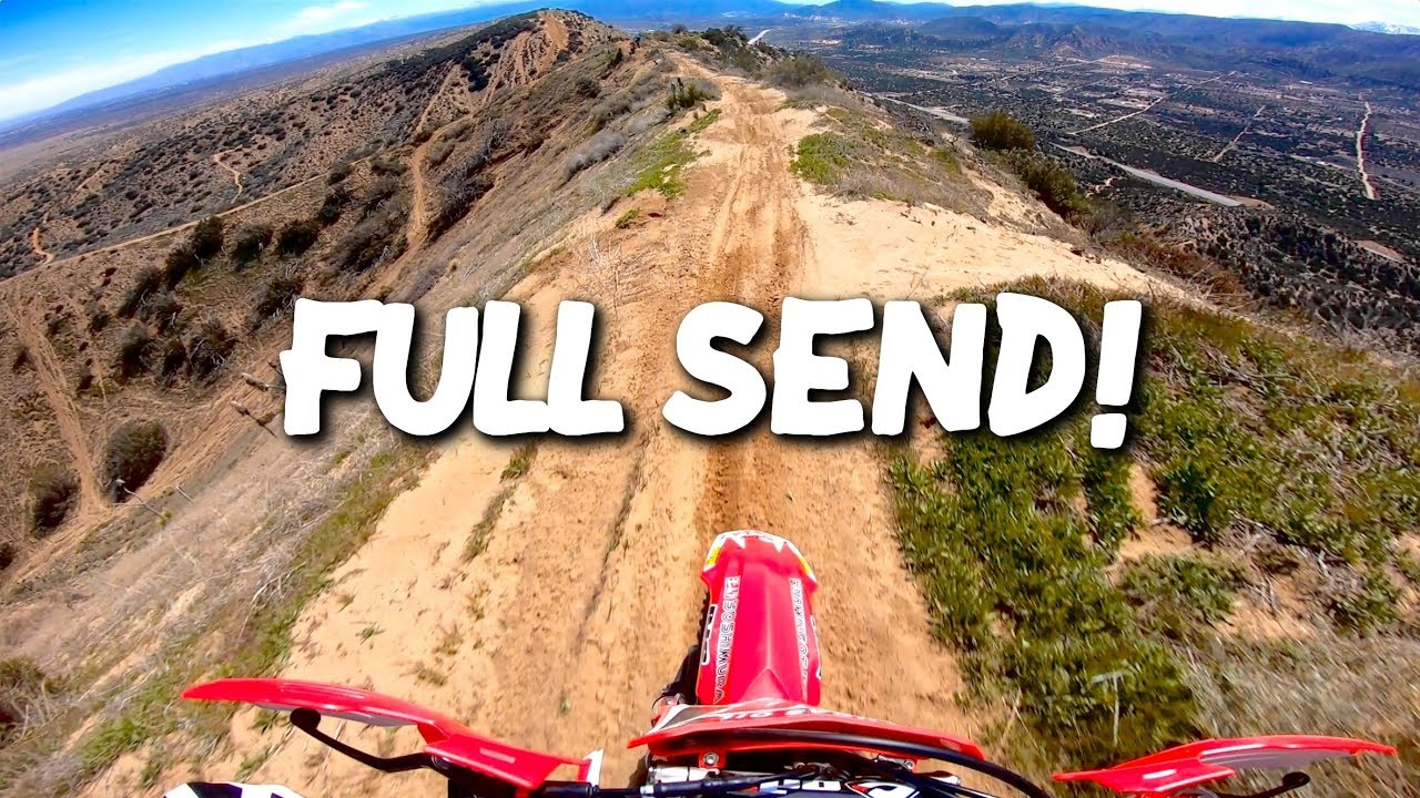 CRAZIEST RIDING I'VE EVER DONE! - Wide Open Hill Climbs & Mountain Ridges