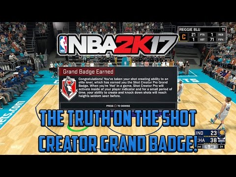 The Truth About The Shot Creator Grand Badge!