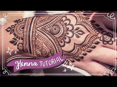 Easy Henna Design for Beginner | Hand Henna