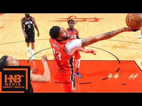 Houston Rockets vs New Orleans Pelicans 1st Half Highlights / March 24 / 2017-18 NBA Season