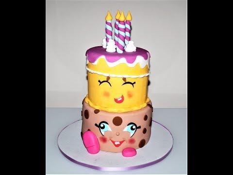 Cake decorating tutorials | how to make a Shopkins cake | Sugarella Sweets
