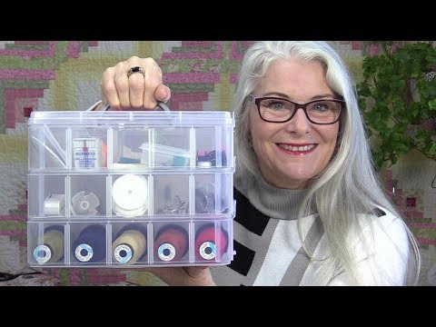 Stackable and Adjustable Sewing Storage/Carrying Containers