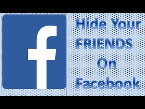 How to hide Facebook Friend list By Tips&Tricks