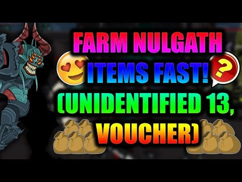 AQW (BOTTING) FARM UNIDENTIFIED 13, VOUCHER, AND OTHER NULGATH ITEMS FAST! 2017