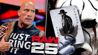 5 Surprises For WWE RAW 25th Anniversary That Must Happen!
