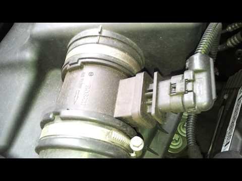 Where is the MAF Sensor in a Vauxhall Zafira B 05 on 1 7 CDTi