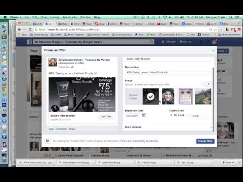 Create an Offer on your Facebook Business Page