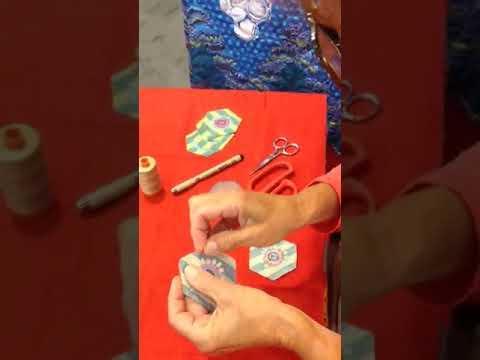 Ann's Paperless Hexagon Quilting technique!
