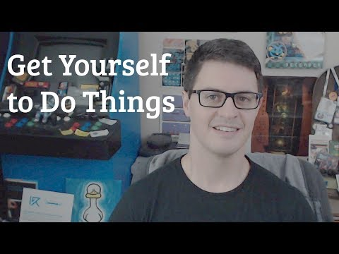 Get Yourself to Do Things (kicking off a new initiative!)