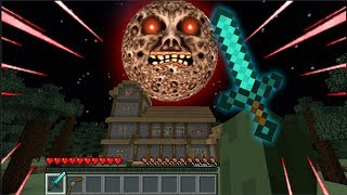 Download LUNAR MOON ATTACKS ZOMBIE FAMILY AND MARK THE FRIENDLY ZOMBIE !Minecraft Mods Video