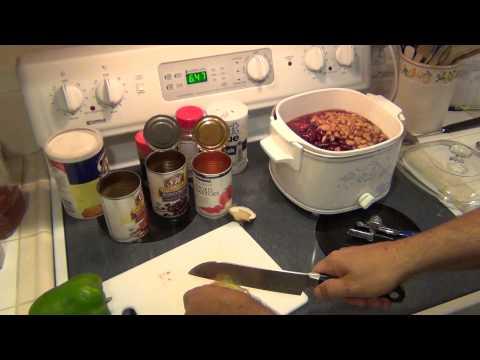 Crock Pot Chili - Easy Recipe