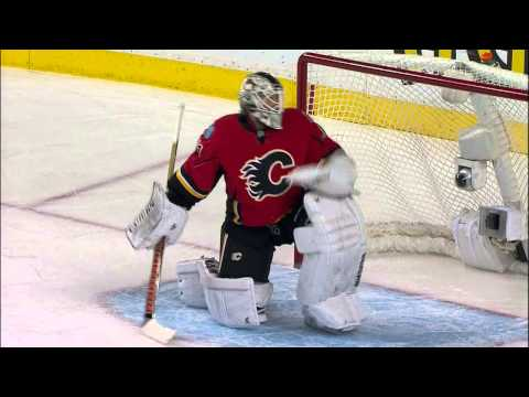 Gotta See It: Flames switch goalies after Canucks fast start