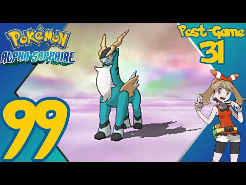 Pokémon Alpha Sapphire - E99 (Post-Game 31) - Catching Cobalion - Gameplay Walkthrough
