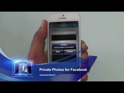 Private Photos for Facebook - iPhone app