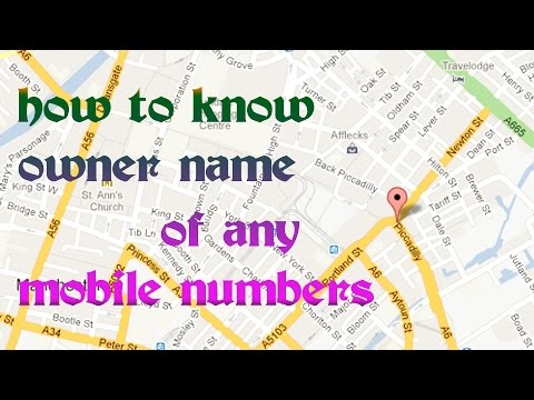 how to trace mobile number with exact name & location