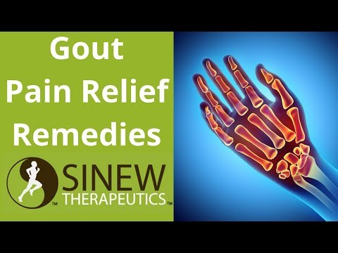 Gout Pain Relief Remedies