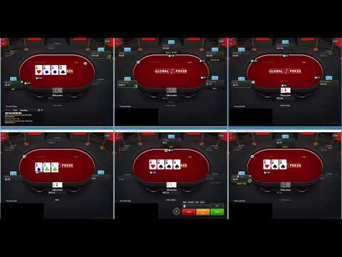 Global Poker Run it Up Episode 7 10nl 6-Max No Limit Texas Holdem Cash Game